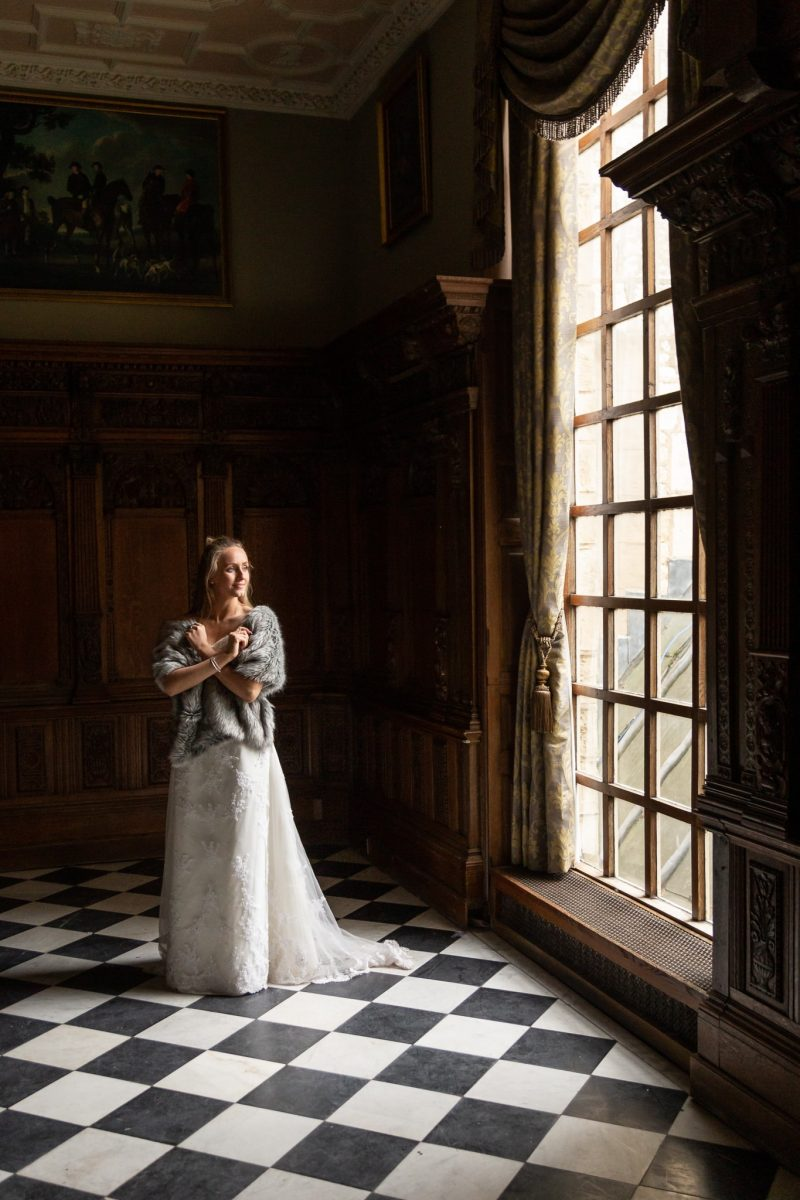 Stately Home Wedding Photograph